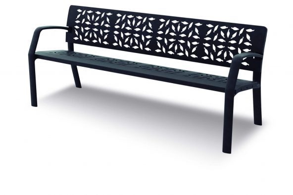 laforest cast iron park benches