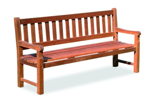 alpine timber park benches