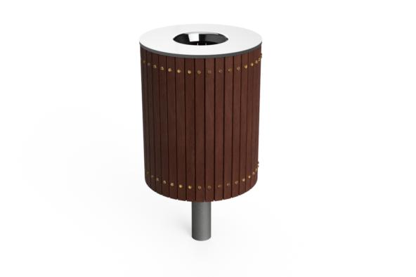 coaster timber bin 4
