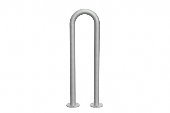 Hoop Bike Rack Galv1