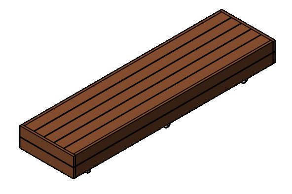 Liffiton Wide Bench 3M