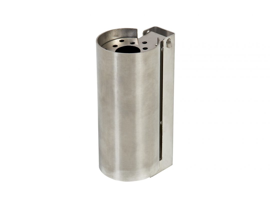 Cylindrical Stainless Ashtray