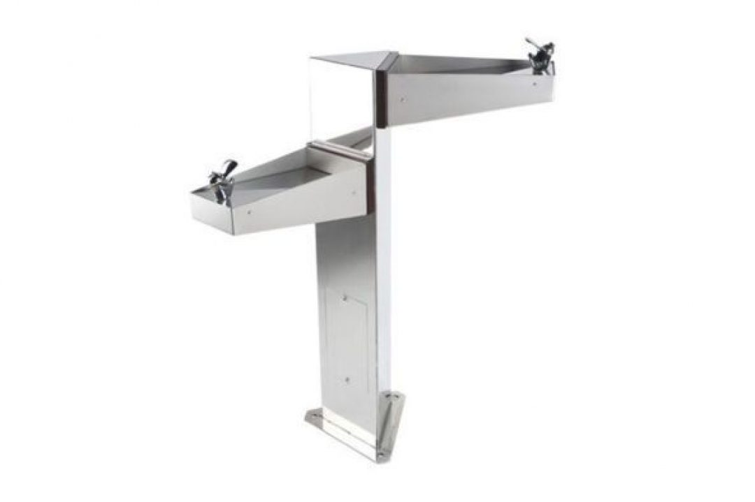 Dual Stainless Drinking Fountain