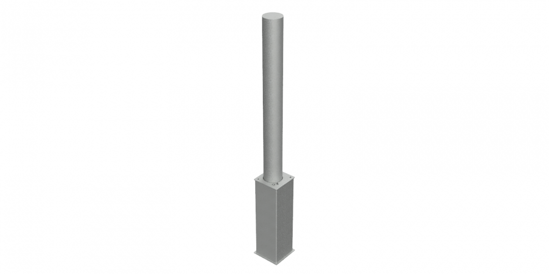 Flat Top Rem 500 Base Galv 1