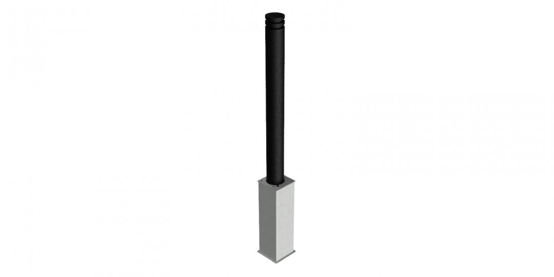 Flat Top Rem 500 Base Cast Head Black