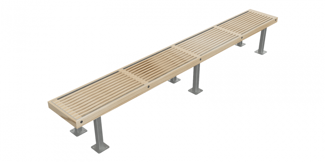 Jp Rochfort Style Timber Bench 4