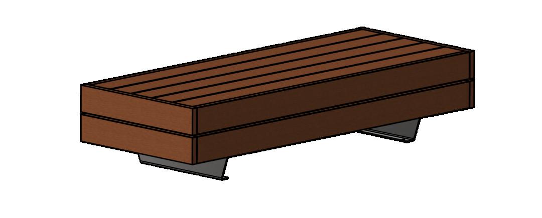 Liffiton Wide Bench 2M