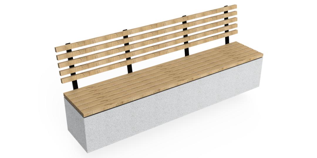 Nazareth Concrete Seat 1