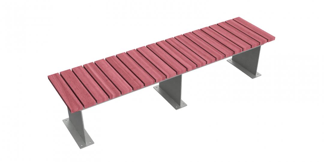 Terrassa Straight Bench 1