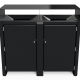 Dalia 60 L Double Black No Signage