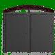 kawatiri double bin enclosure
