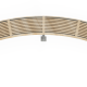 Rochfort Curved Timber Bench 3